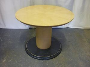 Sven maple veneer 1000mm diameter table