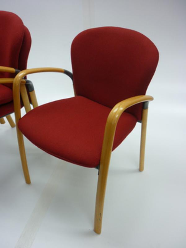 Antocks Lairn Sky red chair