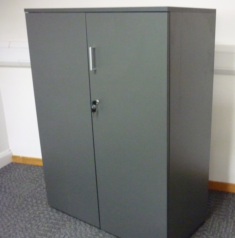 1200mm high graphite Counter cupboard