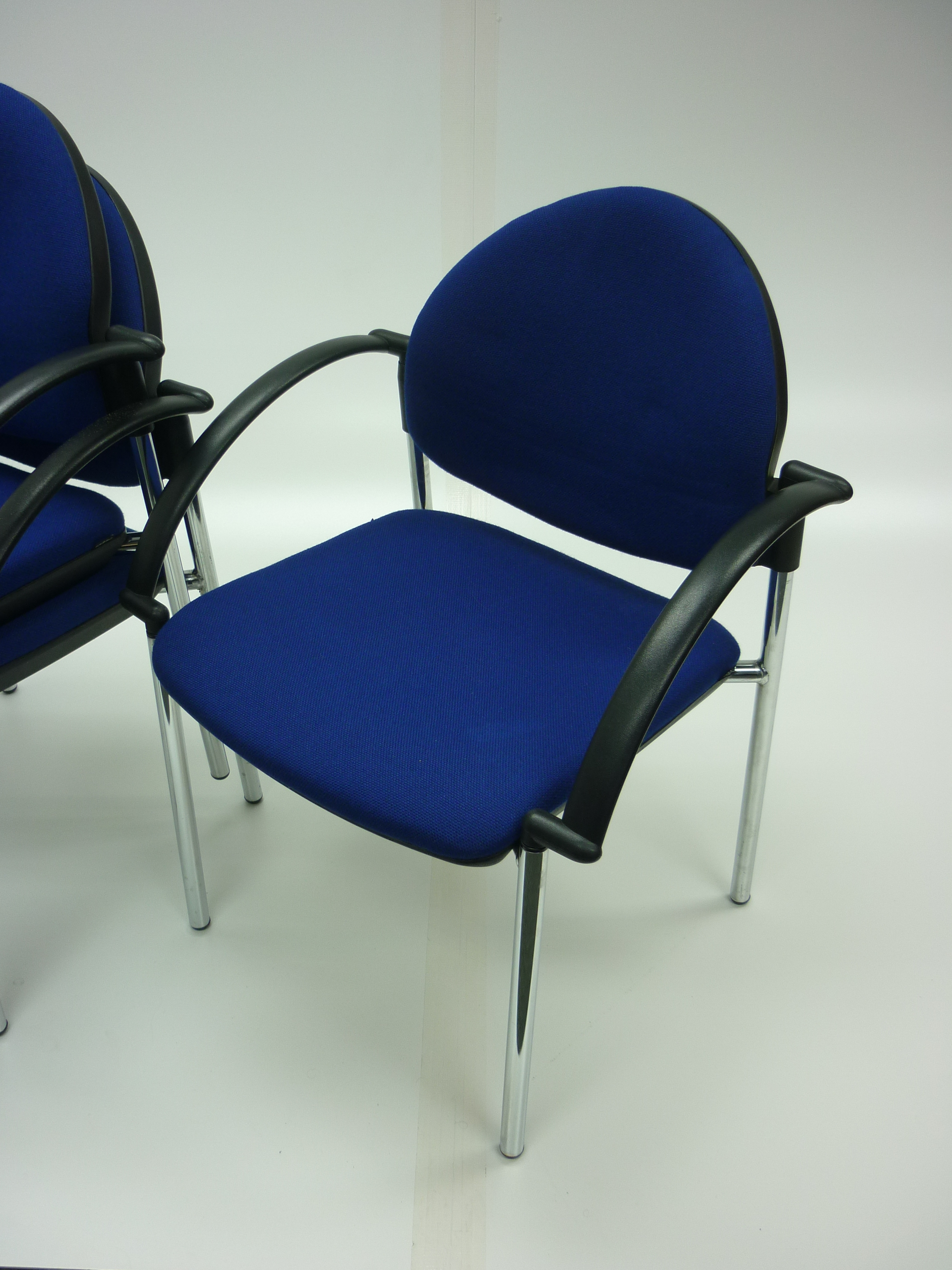 Verco Focus blue stacking conference/meeting chairs