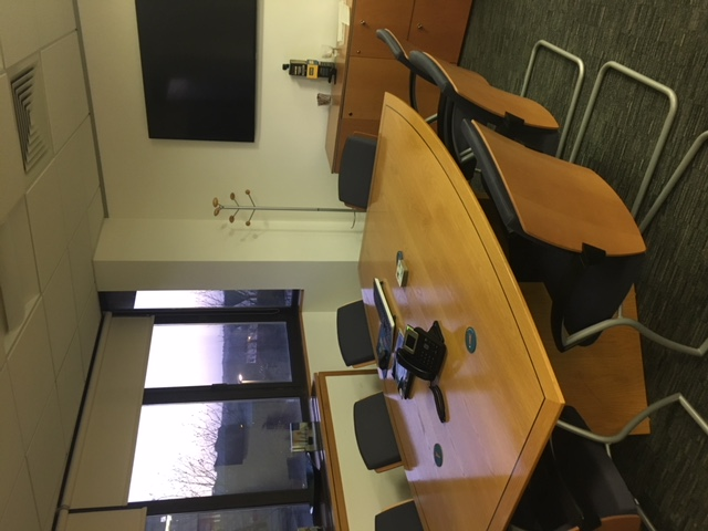 2200mm oak veneer barrel shape boardroom table