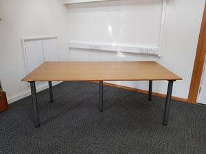 additional images for 2000 x 1000 mm lacquered MDF meeting/ work table