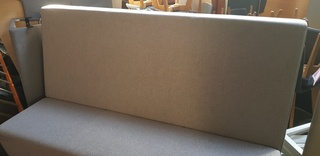 Light grey Techo Aura acoustic sofas
