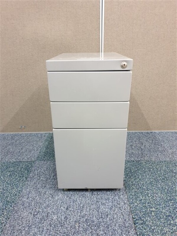 additional images for Grey slimline metal pedestal