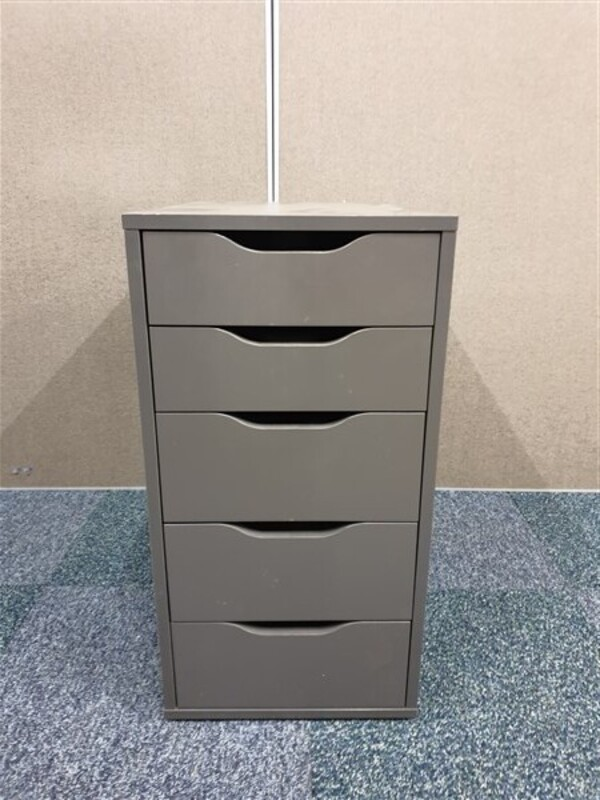 additional images for Graphite wood storage unit