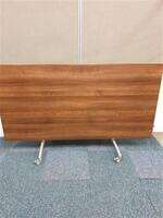 additional images for Walnut flip top meeting room table