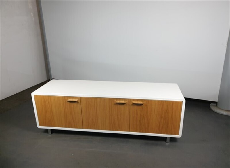 additional images for Oak Door White Credenza