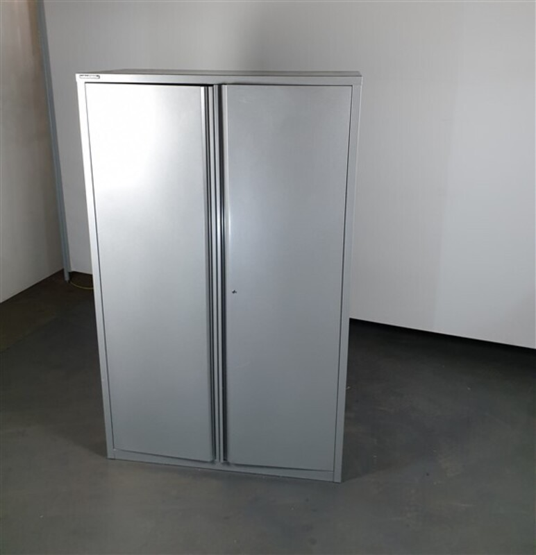 additional images for Haworth Grey Metal Cupboard
