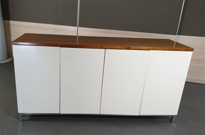 additional images for Walnut Surround 4 White Door Credenza