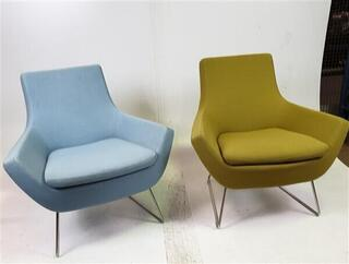Swedese Blue Soft Seating