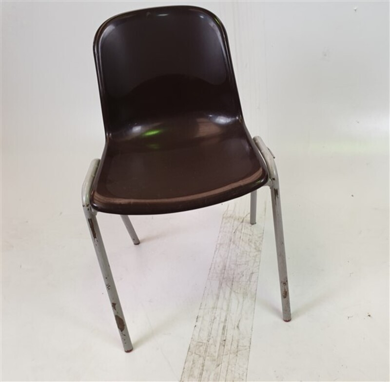 additional images for Brown Stackable Plastic Chairs