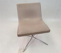 additional images for Offecct Cream Leather Chair