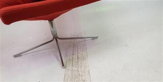 Offecct nbspOrange Fabric Chair