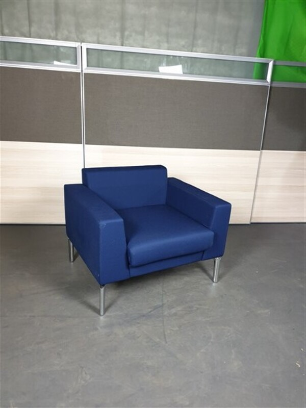 additional images for Genuine Boss Royal Blue Chair