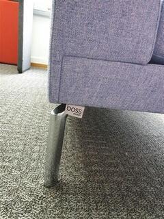 Boss Design Corner Sofa Baby Blue