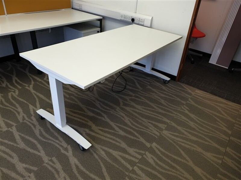 additional images for White OMT Height Adjustable Desk