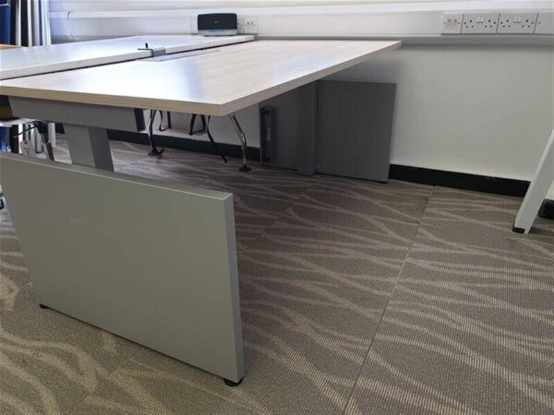 additional images for Herman Miller Sense Desk Grey Frame