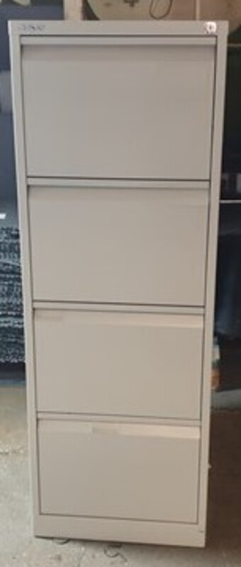 additional images for Bisley 4 drawer filing cabinet