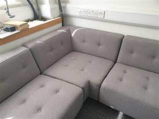 Hitch Mylius corner sofa