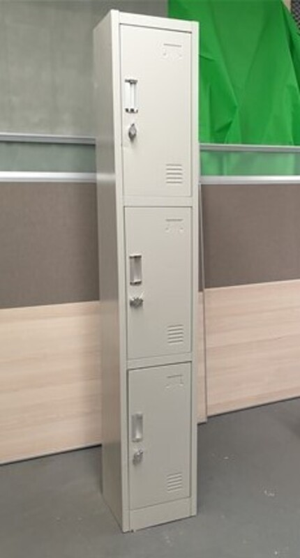 additional images for White padlock lockers