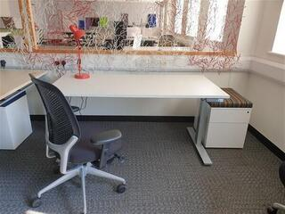 Executive Package of electric desk and chair