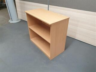 Beech Wood Bookcase Adjustable Shelf
