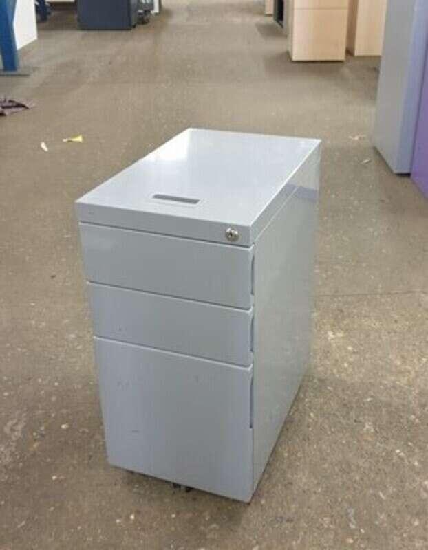 additional images for Metal Grey Slimline Pedestal