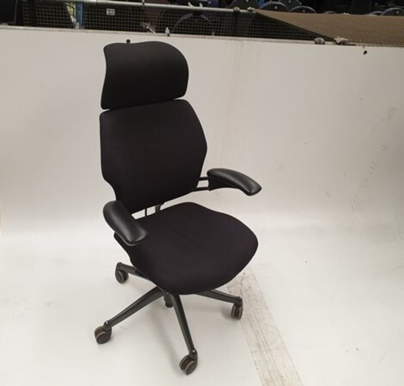 additional images for Humanscale black task chair