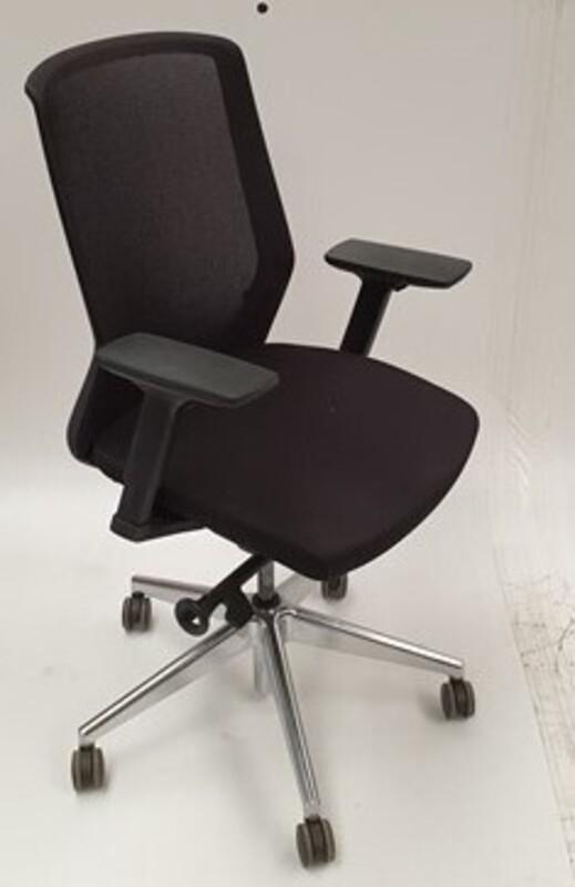 additional images for Bestuhl black mesh adjustable chair