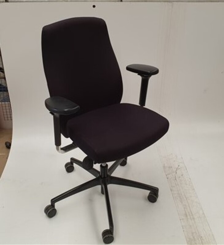 additional images for Komac black adjustable chair