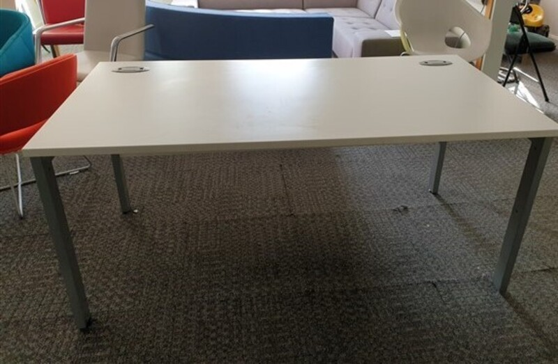 additional images for White freestanding desk