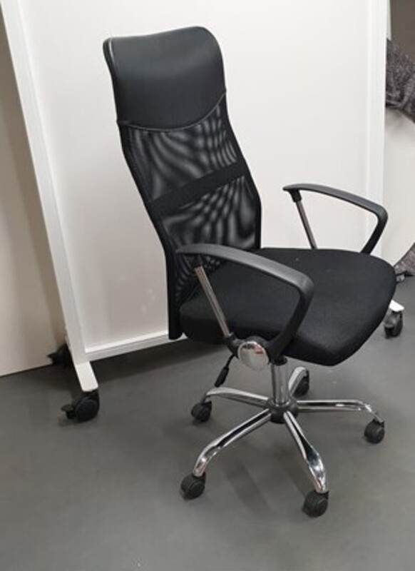 additional images for Black high back task chair