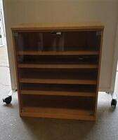 additional images for Shelving unit with glass doors