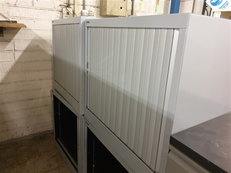 additional images for Bisley tambour single door 690h