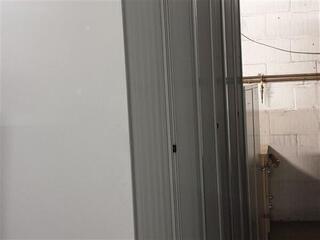 Bisley tall grey metal tambour 2230h