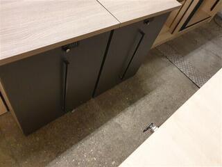 Desk high storage unit