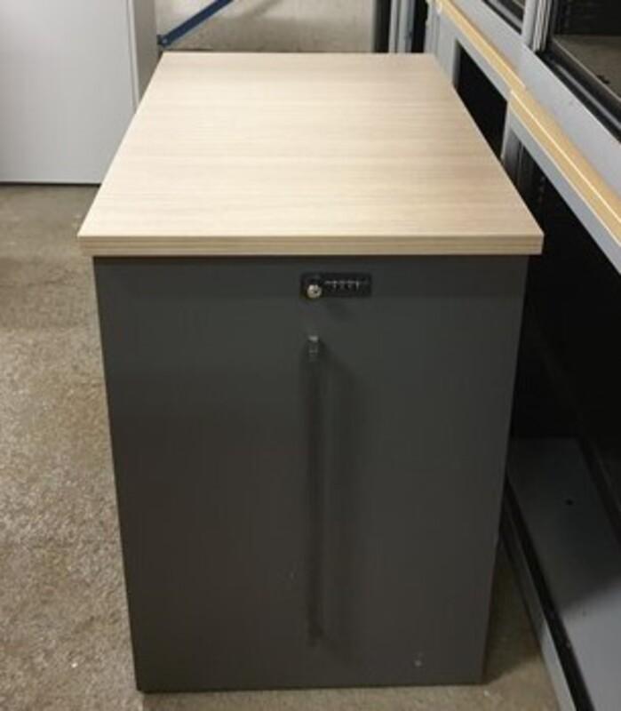 additional images for Desk high storage unit