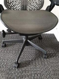 Herman Miller Mirra 1 light grey back