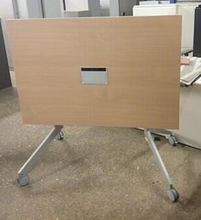 Beech flip top table 1200mm