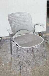 additional images for Herman Miller Caper light grey stacking chair