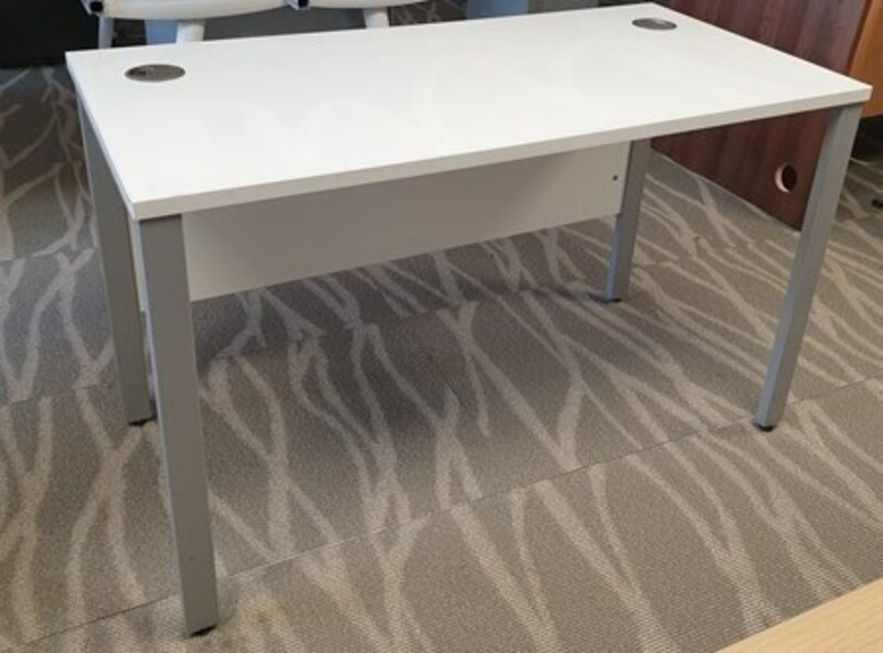 additional images for White freestanding desk