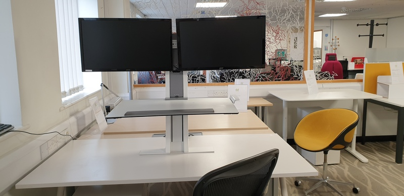 additional images for Humanscale QuickStand Workstation