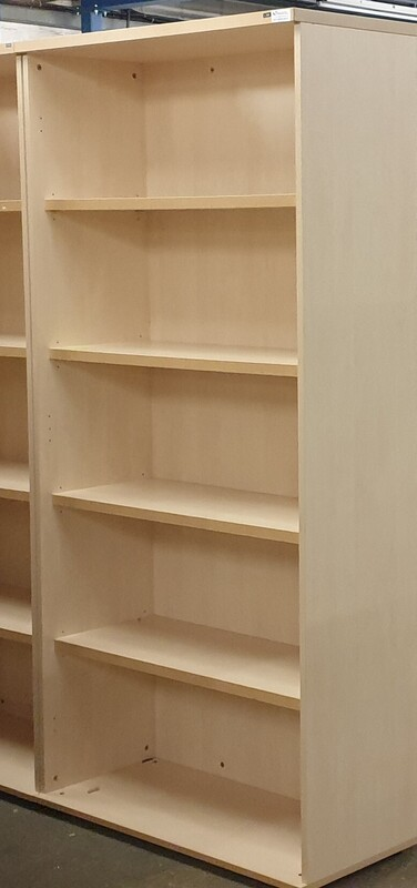 additional images for Tall Maple shelving unit