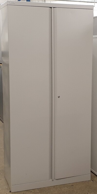 additional images for Bisley grey metal cupboard 1970h