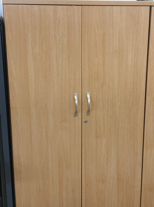 additional images for Oak top and doors cupboard