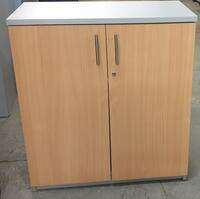 additional images for Light oak and grey cupboard