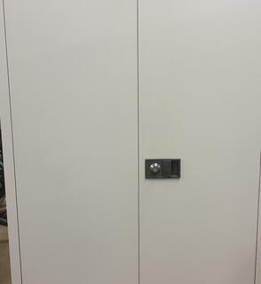 Light grey 1800h cupboard