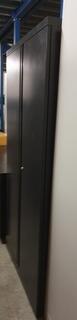 Bisley black metal cupboard