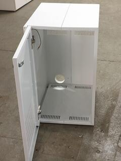 White metal CPUServer Cabinets