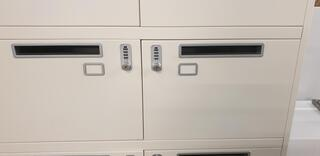 8 unit locker